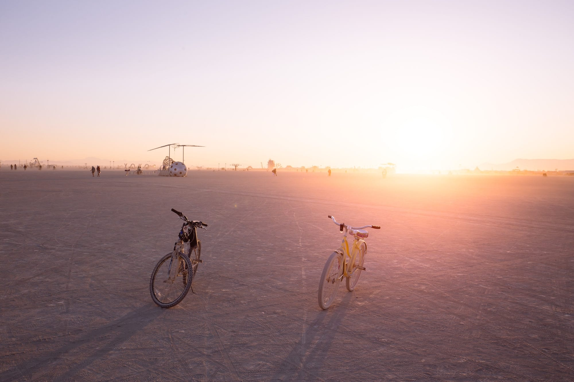 bikepacking tips for the desert